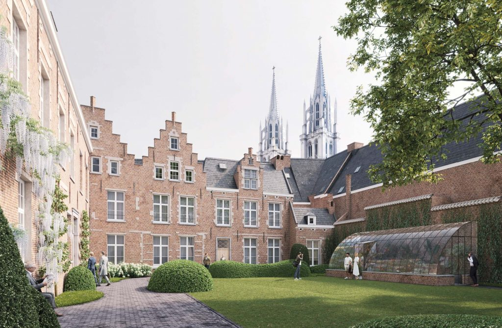 Hotelmarketing - Botanic Antwerp - aussen