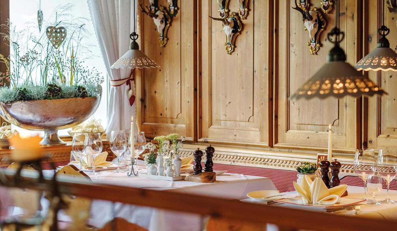 Restaurant Marketing - Gourmet Restaurant - Hubertus Stube - hubertusfruehling
