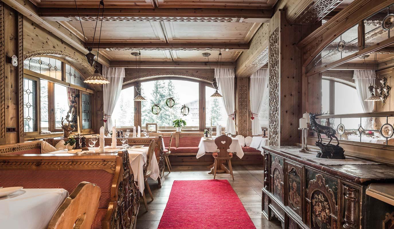 Restaurant Marketing - Gourmet Restaurant - Hubertus Stube - hubertuswinter