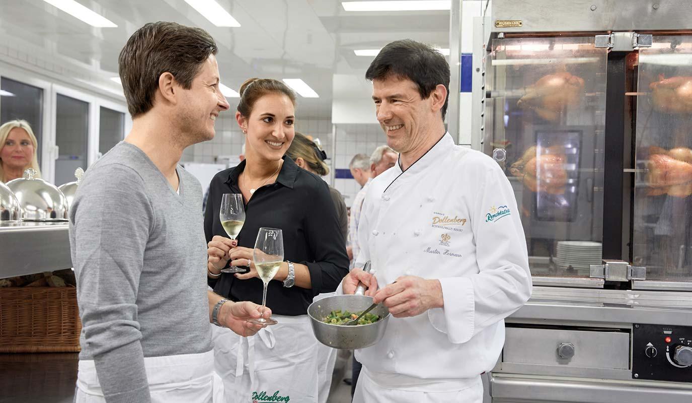 Restaurant Marketing - Gourmet Restaurant - Le Pavillion - kuechenparty
