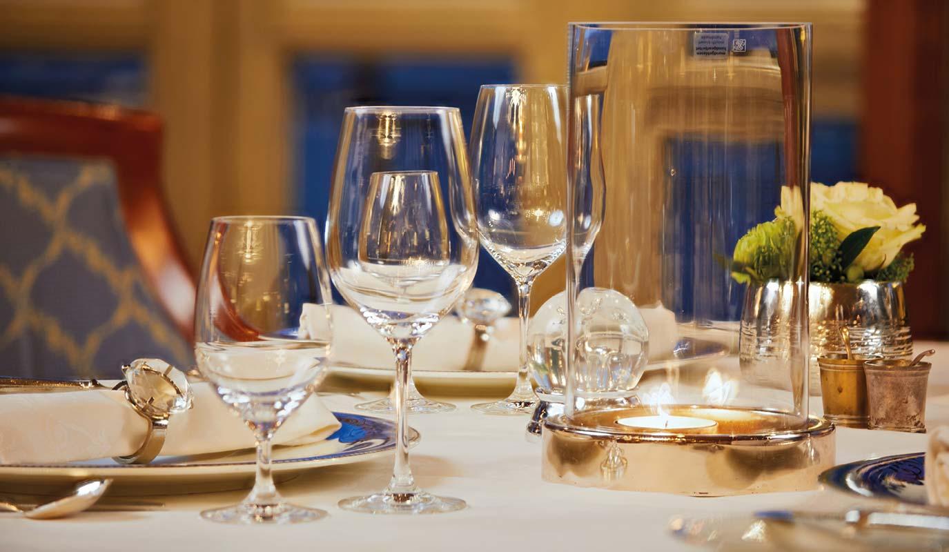 Restaurant Marketing - Gourmet Restaurant - Le Pavillion - tischdetail