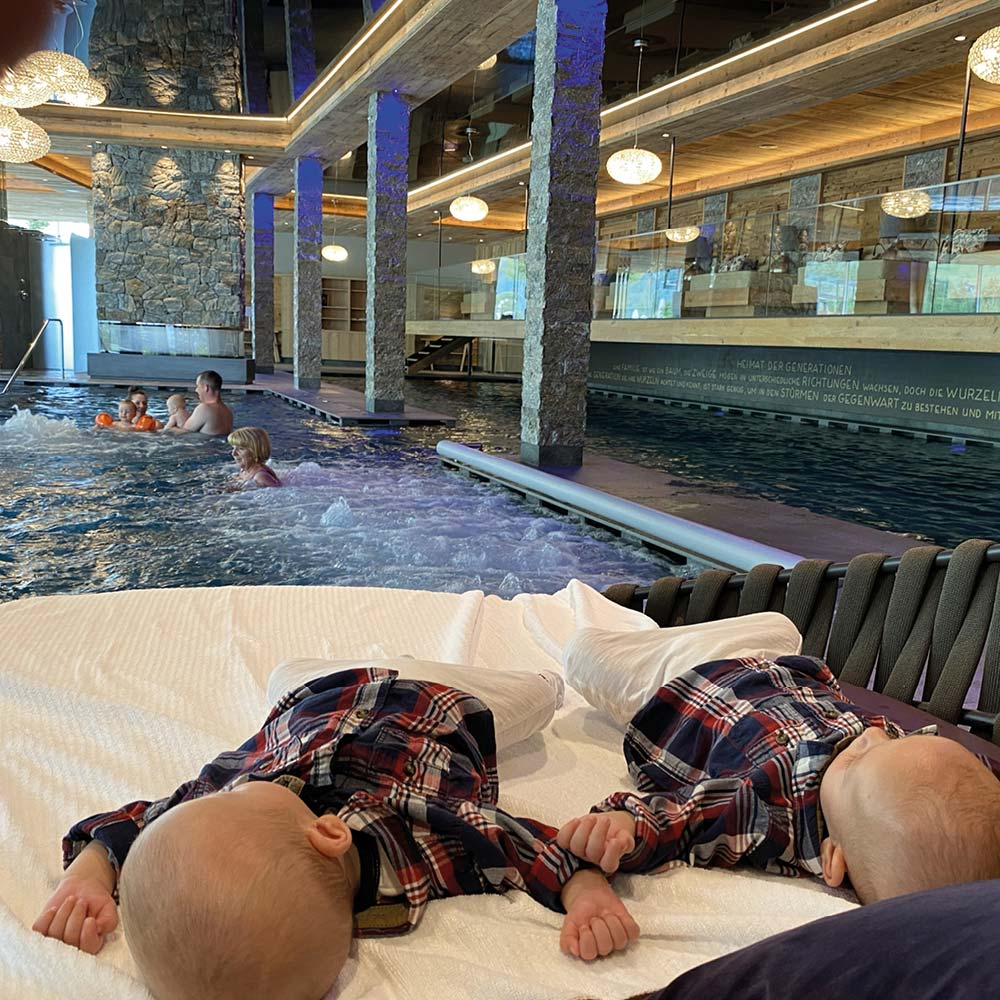 Urlaub mit Baby im Hotel Plunhof Presse Newsroom